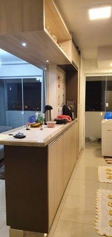 apartamento de 3 qts com escaninho, armários, porcelanato, condomínio reserva da amazônia - Foto 8