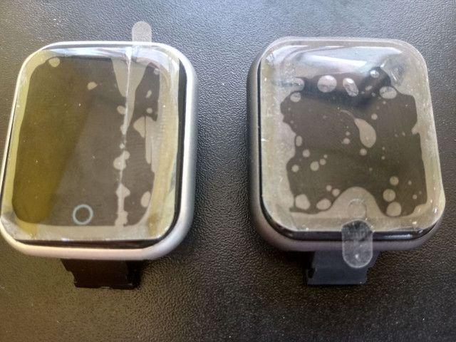 Smartwatch Relógio Inteligente Y68 D20Promoção/Compatível Com Android e IOS PRETO