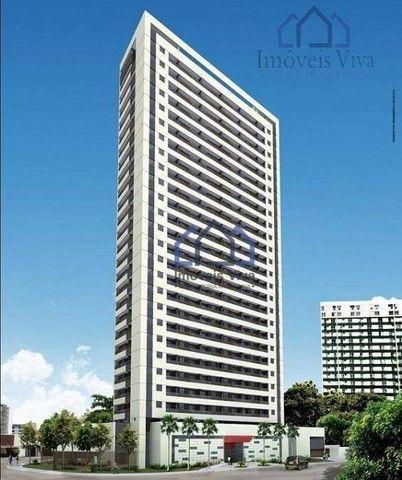 Apartamento com 1 quarto à venda, 32 m² por R$ 290.000 - Soledade - Recife/PE