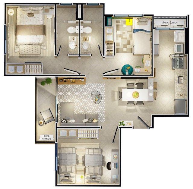 Apartamento com primeiro Park Club com zero de entrada!!! - Foto 14