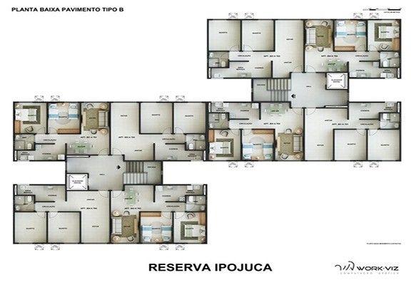 Apartamentos em Ipojuca  - Foto 2