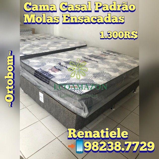 Cama Casal Iso SUPERPOCKET // 2 TRAVESSEIROS de brinde