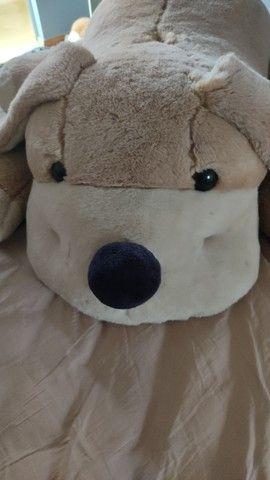 Urso de pelúcia cachorro tamanho Grande