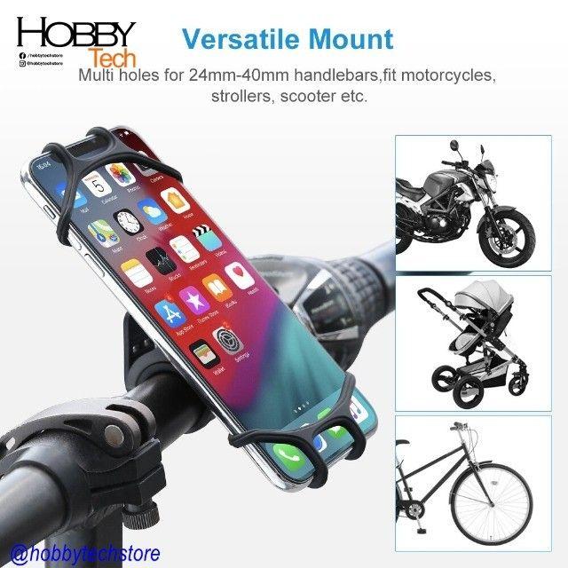 Suporte para Celular de Silicone Bike Moto - Foto 4