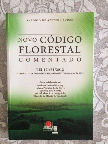Novo Código Florestal Comentado. Lei Nº 12.651 2012