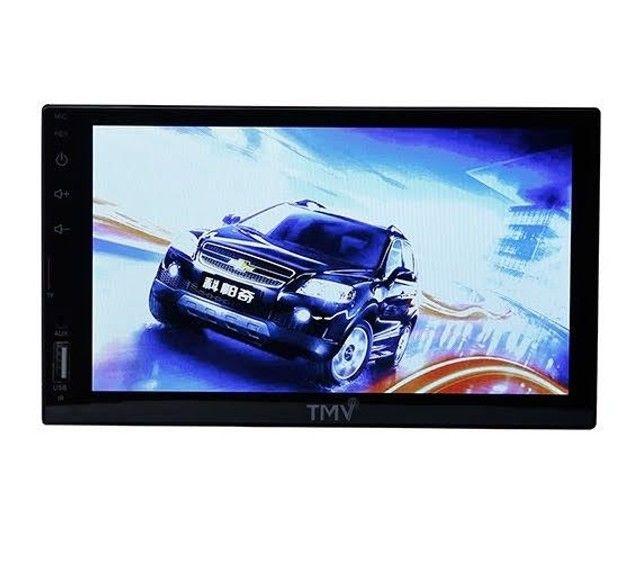 Central multimídia universal espelhamento celular touch screen LCD 7 polegadas - TMV - Foto 4