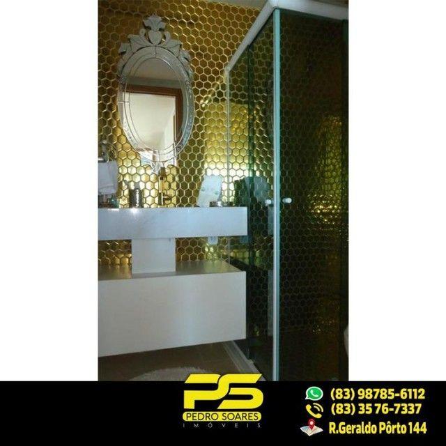 (LUXO) Cobertura com 2 qts sendo 1 suíte à venda, 130 m² por R$ 1.000.000 - Beira mar Cabo - Foto 4