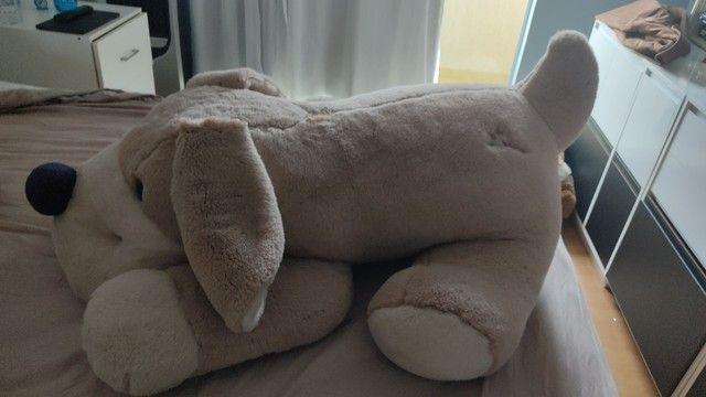 Urso de pelúcia cachorro tamanho Grande - Foto 2