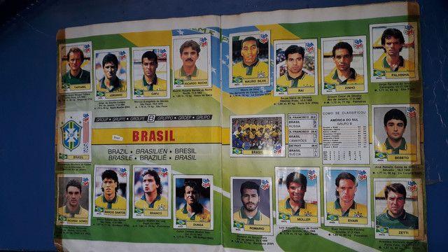 Album copa do mundo ano 1994 completo - Foto 2