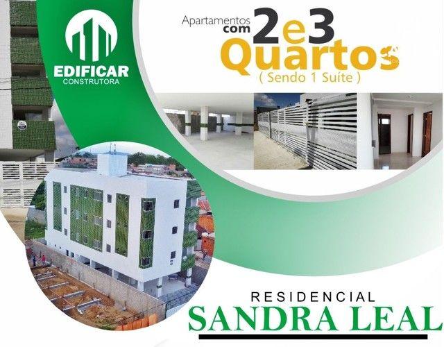 Apartamento 2 e 3 Quartos, no Luiz Gonzaga, Pelo Minha Casa Minha Vida, Res. Sandra Leal