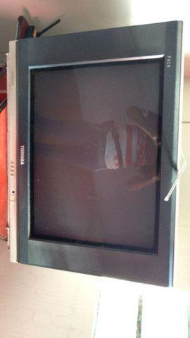 TV de tubo grande ( com o cabo hdmi vira smart) - Foto 2
