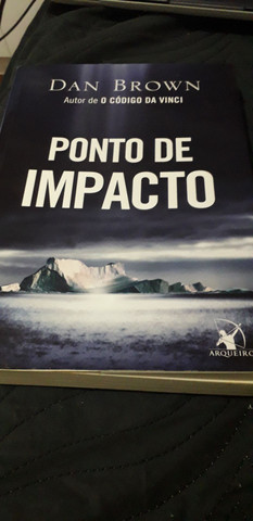 Livro - Ponto de impacto - Dan Brown