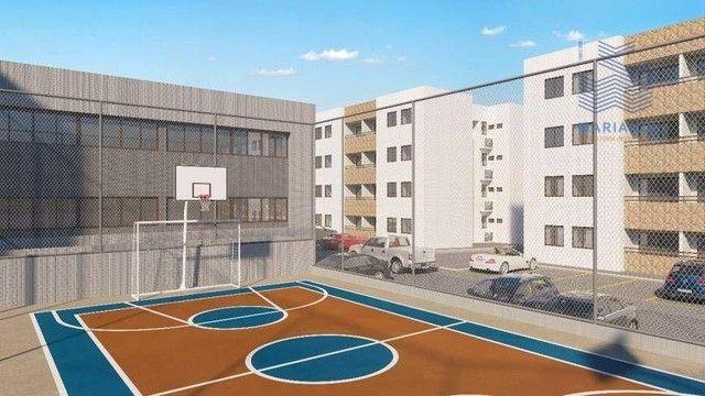Apartamento com 2 dormitórios à venda, 53 m² por R$ 180.000,00 - Bancários - João Pessoa/P - Foto 4