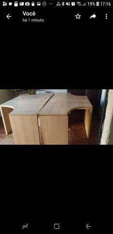 Vendo 4 mesas para escritório