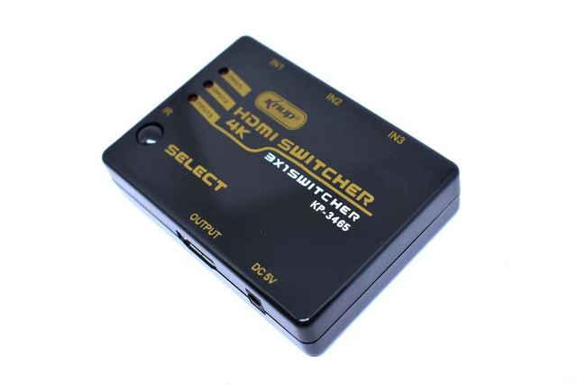Swith HDMI 3 entradas / 1 saída  - Foto 4