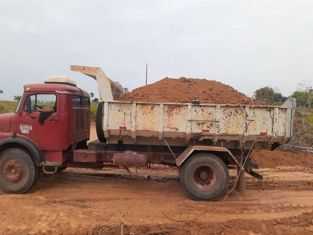 Caminhão caçamba 1313 Mercedes bens ano 80/81 - Foto 6