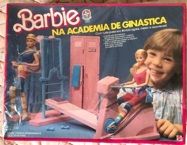 """Relíquia Barbie - Na Academia de Ginástica """"Estrela Matel"""""""