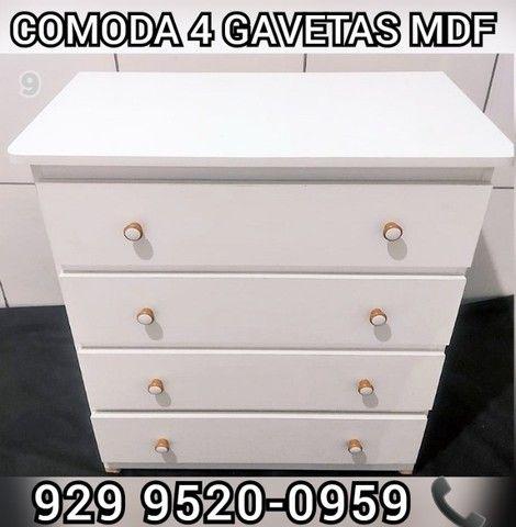 comoda 100% mdf a partir 189,99  sapateira >>>> - Foto 2
