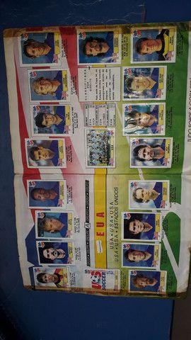 Album copa do mundo ano 1994 completo - Foto 4