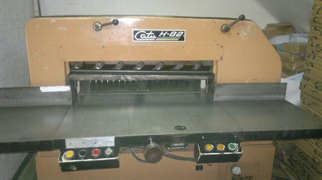 Guilhotina usada Catu H82