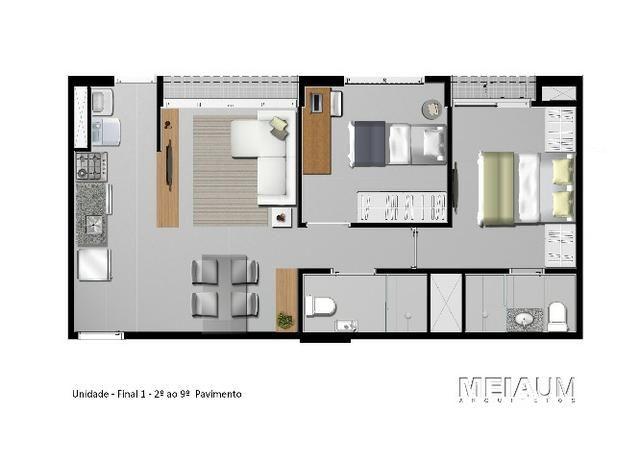 2 quartos em Samambaia