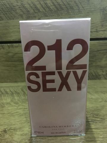 Perfume importado 212 sexy Carolina herrera Original