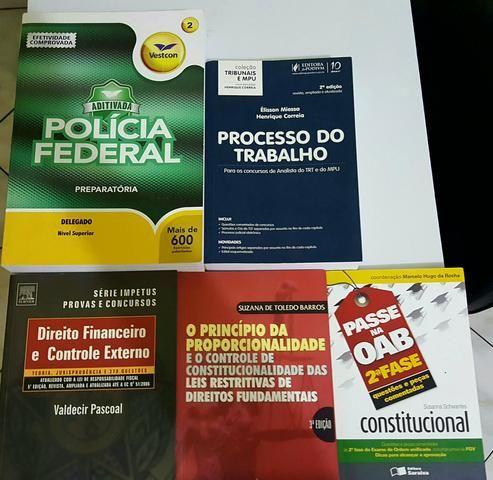 Livros para concurso. tudo por 80 reais.