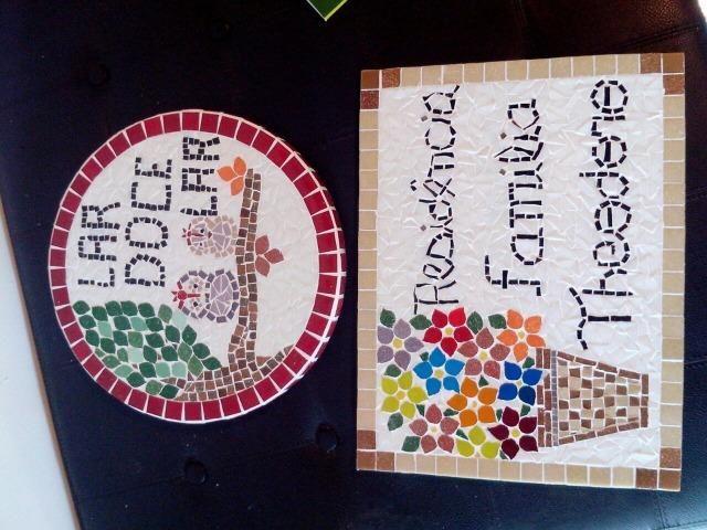 Numero placa mosaico residencial - Foto 2