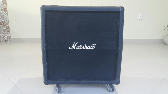 Vendo caixa Marshall 4x12 sem os auto-falantes