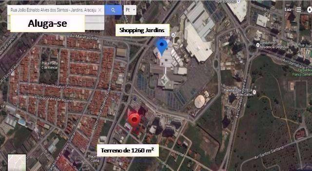Aluga-se Terreno no Bairro Jardins 1260 m² - Foto 6
