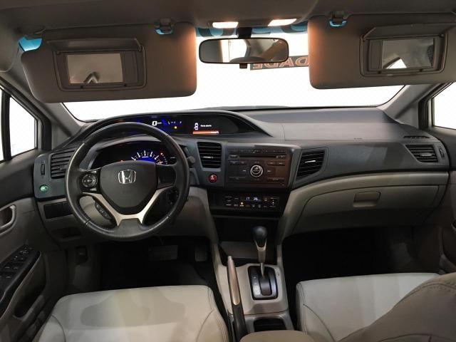 Honda Civic LXS 1.8 Flex I-Vtec Autom. _ Completo - Foto 8