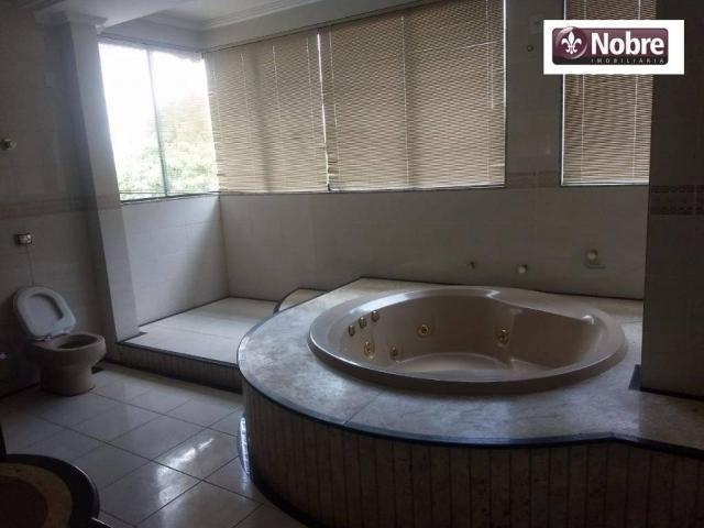 Sobrado com 4 dormitórios para alugar, 289 m² por r$ 3.520/mês - plano diretor sul - palma - Foto 14