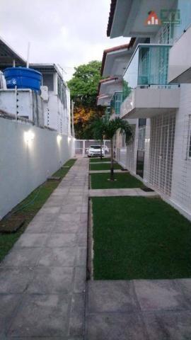 Casa com 3 dormitórios à venda, 80 m² por R$ 310.000 - Cordeiro - Recife/PE - Foto 18