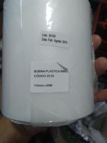 Bobina Plástica/Polaseal 115mmx0,05mmx60M - Foto 3