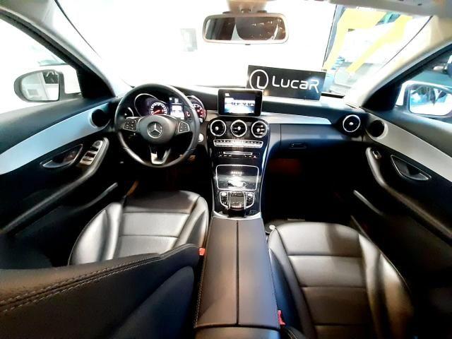 Mercedes benz c180 2017 comp+ couro+autom motor 1.6 2020 vistoriado - unico dono - Foto 10