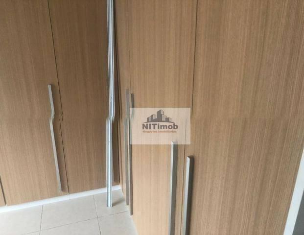 Excelente Apartamento na Mariz e Barros 272 em Icaraí no Condomínio Calle Veronna, com arm - Foto 3