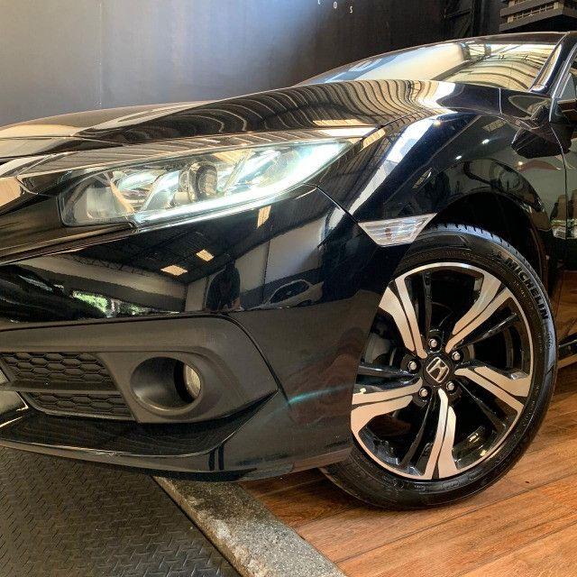 Civic EXL 2.0 com Revisões na Honda + Pneus Michelin - Foto 8