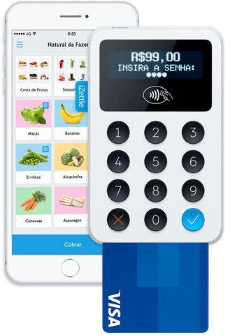 Maquineta de cartão de crédito izettle