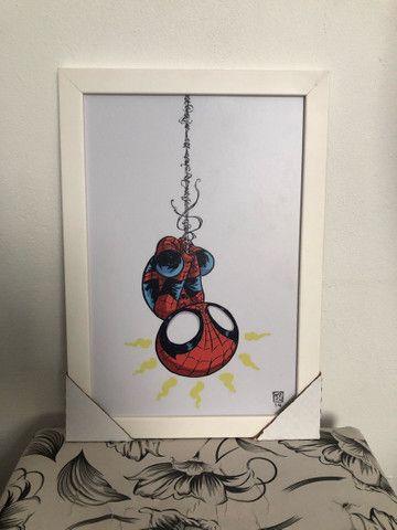 Quadros decorativos Heróis Marvel p/ quartos.  - Foto 5