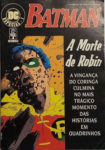 Polêmico! HQ A Morte de Robin (1989)