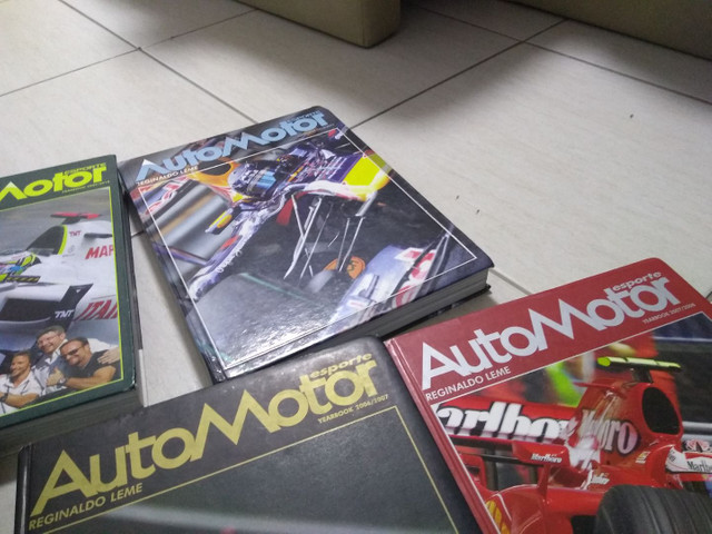 Fórmula 1 - Livro Automotor Reginaldo Leme - Foto 3