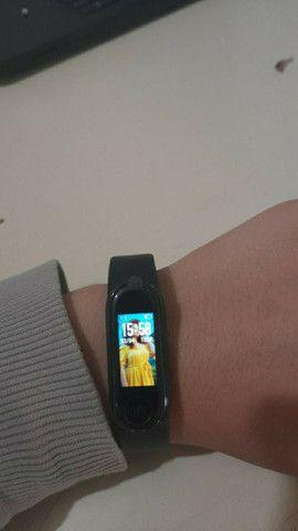 Smartband M5 - Troca papel de parede - conecta com o app Fitpro - garantia de 90 dias - Foto 2
