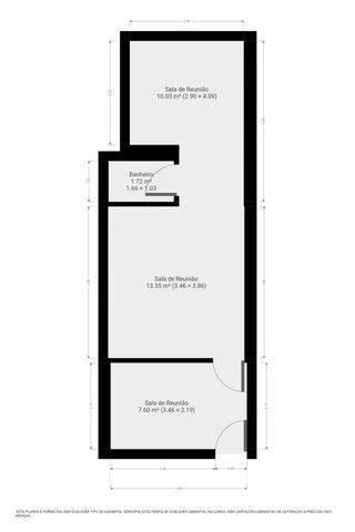Sala com 33m² - Foto 13