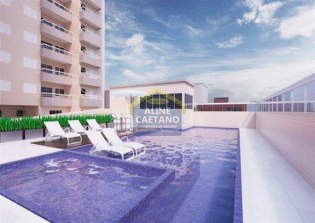 Apartamento 3 dorms Ocian Entrada Apenas R$ 75 mil - Foto 3