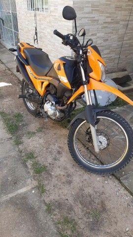 Moto bross laranja - Foto 6