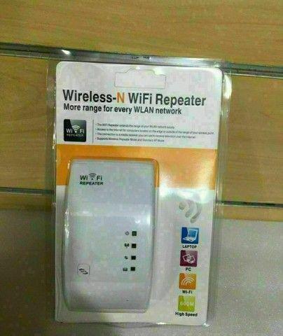 Repetidor De Sinal Wi-fi Wireless Sem Fio Knup KP-3007