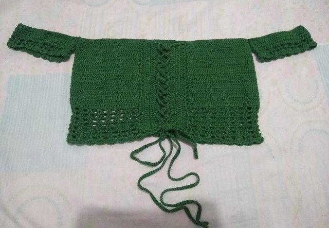 Peças em crochê - Foto 5
