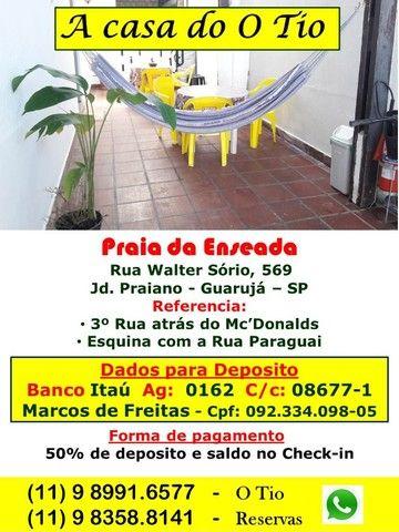 Guarujá - A Casa do O Tio $ 50 por dia - Foto 8