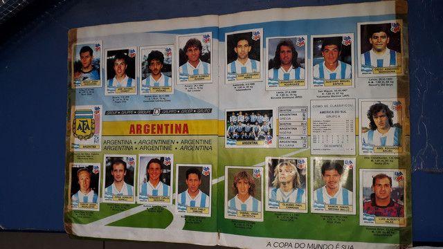Album copa do mundo ano 1994 completo - Foto 3