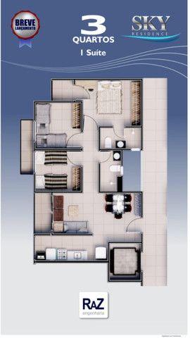 RT85 Lançamento! More no Ilhotas  Apartamento 70m2  03quartos  Zona Sul - Foto 7